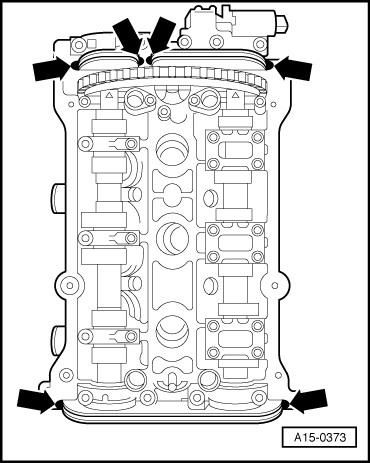Pomocy Wymiana Uszczelki Pod Pokrywą Zaworów V6 28 Audi A4 Klub